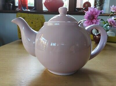 Large Light Pink Tea Pot With Built In Filter By Price & Kensington • 10£