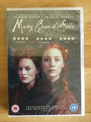 Mary Queen Of Scots DVD  Saoirse Ronan New & Sealed (2019) Period Drama • 2.99£