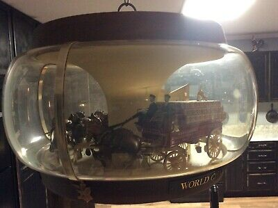 $ CDN586.53 • Buy Vintage Budweiser World Champion Clydesdale Team Lighted, Hanging Carousel