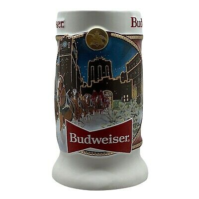 $ CDN45.75 • Buy 2020 Limited Edition Budweiser Clydesdale Holiday Beer Stein Collectible Series