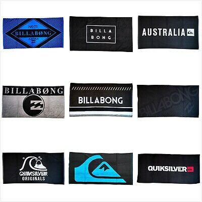 AU48.99 • Buy Billabong Large Soft Beach Towel Sand-free Travel Swim Pool Bath Towel 160x80Cm