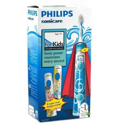 AU92.97 • Buy Philips Sonicare For Kids Electric Rechargeable Toothbrush HX6311/07