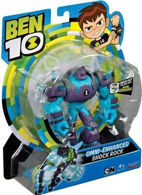 Ben 10 Action Figures - Shock Rock New DNA Energy Alien • 11.38£