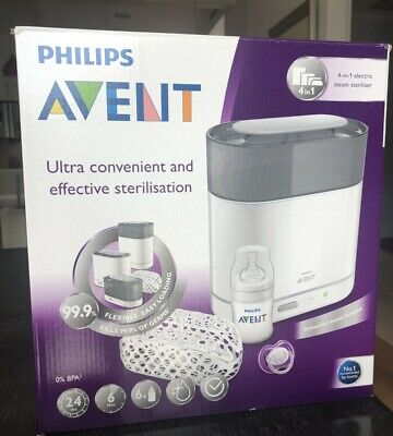 AU110 • Buy Philips Avent 4-in-1 Electic Steam Sterilizer