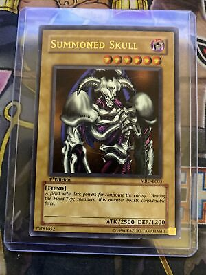 Yugioh - Summoned Skull - 1st Edition - MRD-E003 - Ultra Rare • 160£