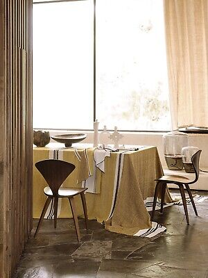 Stonewashed 100% Pure Linen Tablecloth French • 99£