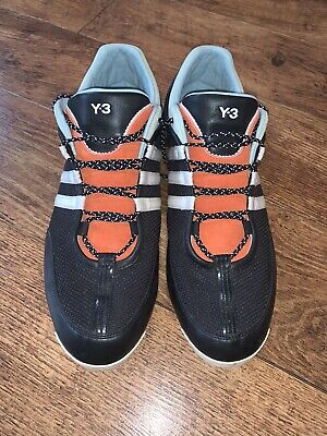 Adidas Y-3 Yohji Yamamoto Boxing Trainers (B35689) Uk 12 Excellent Condition • 10£