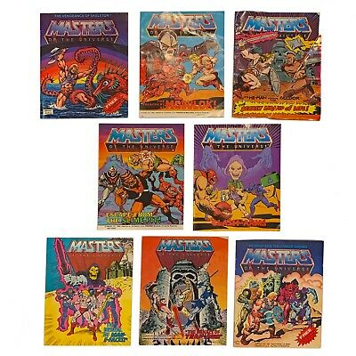 $52 • Buy Vintage He-Man MOTU MINI-COMICS - Lot Of 8 Masters Of The Universe - Super!!!
