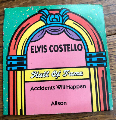 """Elvis Costello - Hall Of Fame 3"""" Two Track CD Single  • 1.50£"""