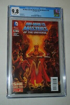 $219.99 • Buy HE-Man And The Masters Of The Universe 18 (2014) CGC 9.8 !!! 1ST SHE-RA !!!