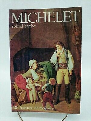 AU21.83 • Buy Michelet, Roland Barthes, 1975 Paperback