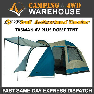 AU139.99 • Buy OZtrail Tasman 4V Plus Dome Tent 4 Person Camping Tent