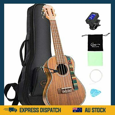 AU195.99 • Buy Ukulele Concert 23 Inch Koa Solid Wood Professional Ukulele With Gig Bag - AU