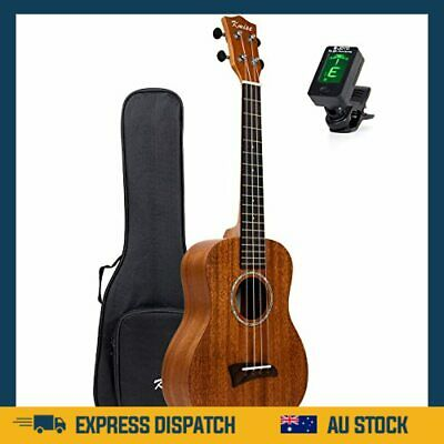 AU103.99 • Buy Solid Mahogany Ukalele Tenor Ukulele 26 Inch Uke Hawaii Guitar Matt W/Bag  - AU