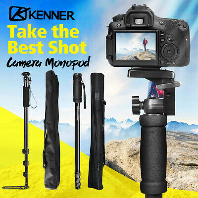 AU24.95 • Buy KENNER Camera Monopod Tripod Stand DSLR Ball Pan Tilt Head Mount Flexible 1.8M