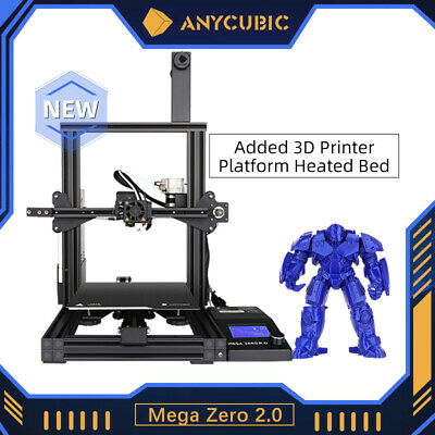 AU229 • Buy ANYCUBIC FDM 3D Printer MEGA ZERO 2.0 I3 MEGA DIY Kit Printing Filament PLA, TPU