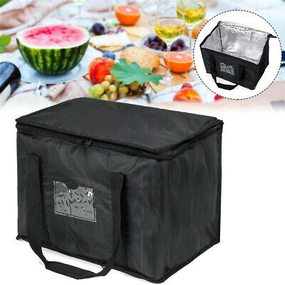 50l Large Food Delivery Insulated Bags Pizza Takeaway Thermal Warm/cold Bag Er • 14.39£