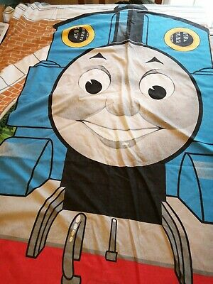 Vintage Thomas The Tank Engine Single Duvet Cover With 2 Pillow Cases • 13£