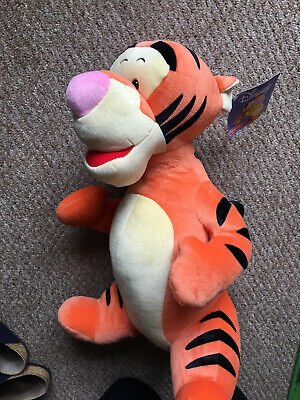 Disney Tigger Soft Toy 55cm With Tags  • 5.50£