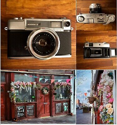 Vintage Yashica Minister D, 35mm Compact Camera FILM TESTED Fully Working LOMO  • 34.99£