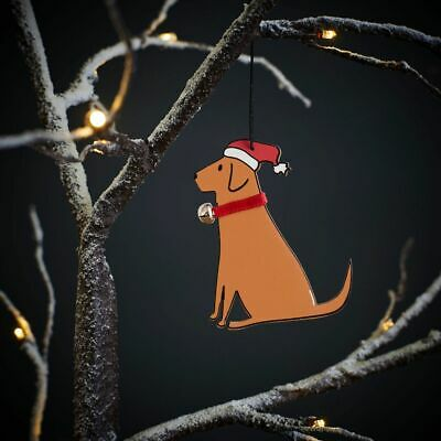 Fox Red Labrador Christmas Tree Decoration/Ornament Bauble Gift/Present Lab • 7.95£