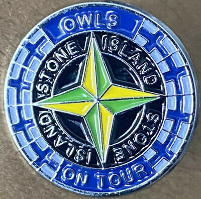 Sheffield Wednesday Football Badge Enamel CASUALS HOOLIGANS ON TOUR *FREEPOST • 2.99£