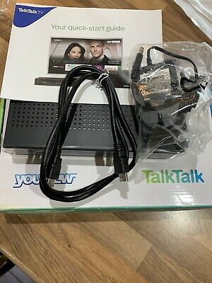 TALK TALK YOUVIEW BOX DN360T FREEVIEW RECEIVER WITH CATCH UP TV - Used No Remote • 4.99£