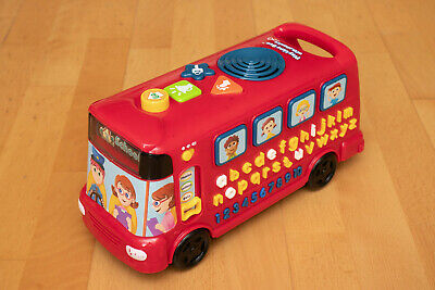 Vtech Learning Activity Bus Red  • 2.99£