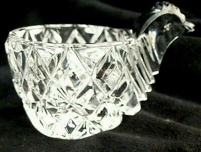 £8 • Buy Egg Cup .Chicken. Hen. Lead Crystal Glass. Vintage .