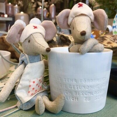 Maileg Nurse Mouse - Florrie BRAND NEW With Tags • 23£