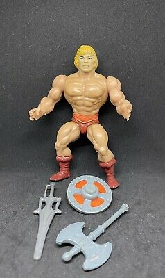 $34.99 • Buy HE-MAN Masters Of The Universe Vintage Motu With Weapons