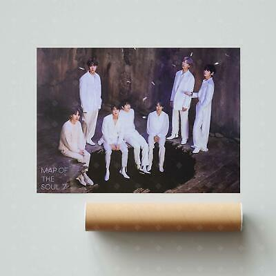 $4.95 • Buy BTS - VOL4 [MAP OF THE SOUL : 7] Official POSTER: Version 1 | US Seller