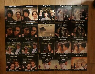 Daily Mail Promo. British Classics - 12 Full-length Feature Films On 20 Dvds. • 5£