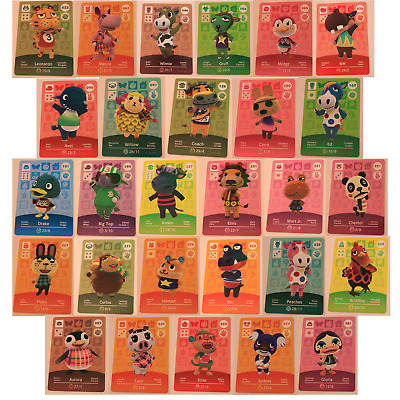 AU3 • Buy Animal Crossing Amiibo Cards Series 1, 2 , 3, 4 Pick From The List!