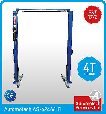2 Post Lift / Car  Vehicle Ramp Hoist 4.0 Ton, Two Post Clear Floor,  • 2,340£