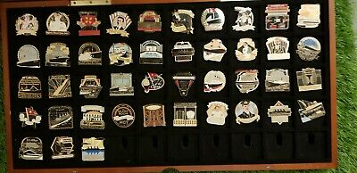 Danbury Mint Titanic Pin Badge Part Collection With Display Case ( TITANIC )  • 35£