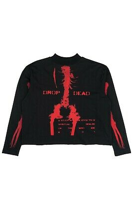 £93.41 • Buy Longsleeve Drop Dead Clothing - Ultraviolence Red Size Large(L) Oliver Sykes DD