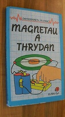 Ladybird Book,WELSH LANGUAGE,Magnetau A Thrydan,Junior Science Book • 4.99£