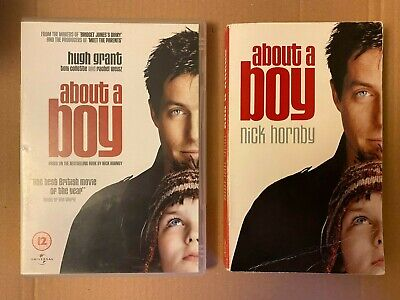 'About A Boy' Book And DVD By Nick Hornby - GREAT BUNDLE, FREE P&P • 4.50£