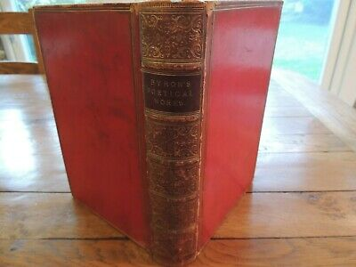 The Poetical Works Of Lord Byron - Murray 1866 - Fine Binding • 50£