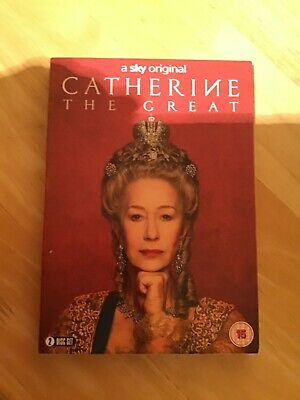 Catherine The Great DVD (2019) Helen Mirren Cert 15 2 Discs ***NEW & SEALED. • 8.99£