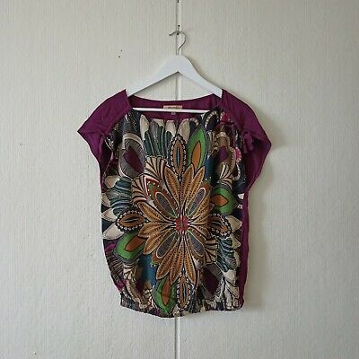 AU29.99 • Buy Bershka Women's Top Purple Multicoloured Sleeveless Size S