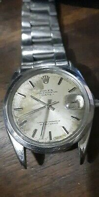 $ CDN1720.55 • Buy Rolex Oyster Perpetual Date Automatic SS 1500 Men's Watch - For Parts Or Repair