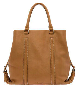 AU50 • Buy OROTON Journey Tote Bag. Tan Leather. Pre Owned