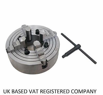 4 Jaw Independent Lathe Chuck K72 80 To 320mm • 51.99£