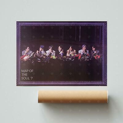 $4.95 • Buy BTS - VOL4 [MAP OF THE SOUL : 7] Official POSTER: Version 3 | US Seller