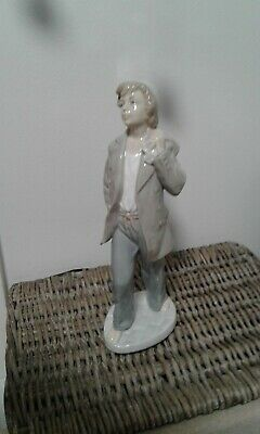 Vintage Nao  Lladro Ship Boy '  On Shore  Cabin/Sailor Boy # 0187  Daisia 1977 • 25£