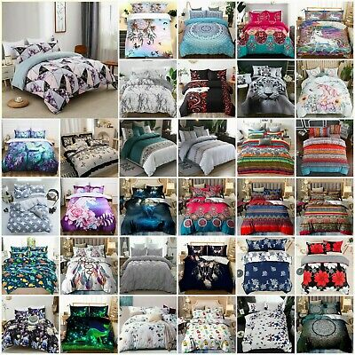 AU32.78 • Buy Ultra Soft Doona/Quilt/Duvet Cover Set Single Double Queen Super King Size Bed
