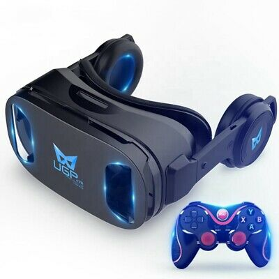 AU108.80 • Buy VR Games 3D Movie Headset For Samsung Android Phone With VR GAMING CONTROLLER