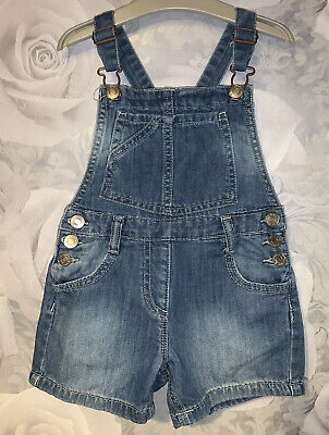 Girls Age 4 (3-4 Years) Next Shorts Dungarees • 8£